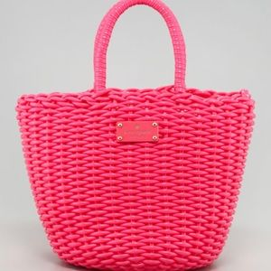 Authentic Kate Spade Beach Club Woven Tote